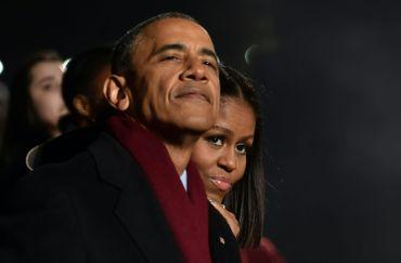 Barack et Michelle Obama, le 1e décembre 2016 à Washington