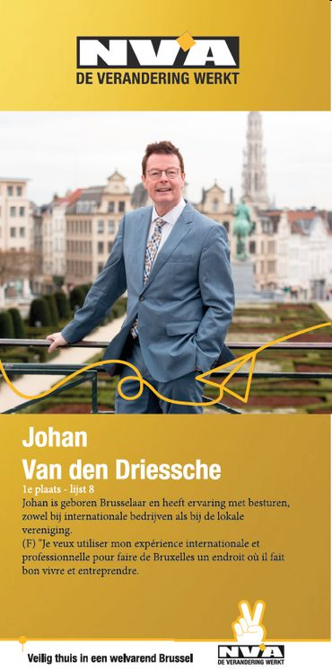 Affiche Johan van den Driessche
