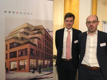 Matthieu Pacco et Christophe Hendrickx