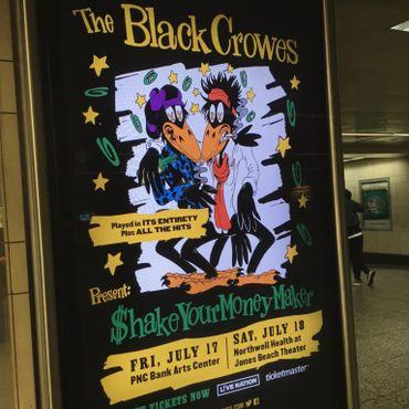 Les Black Crowesréunis et en concert