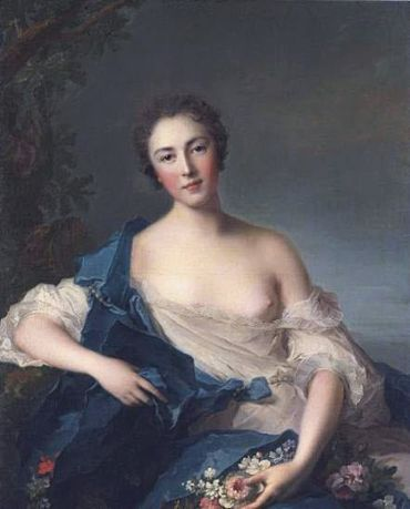 Pauline Félicité de Mailly-Nesle, par Jean-Marc Nattier