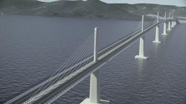 Croatie: le pont de l'espoir pour réunifier le territoire