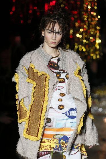 Le patchwork proposé par Vivienne Westwood - Collection prêt-à-porter 2015-2016