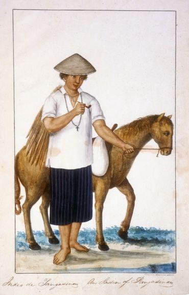 Damián Domingo. Coleccion de trages de Manila. 1827-32. Oversize Ayer Art Domingo.