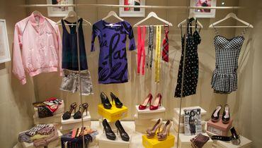 """Vêtements et accessoires de l'expo """"Amy Winehouse: A Family Portrait"""""""