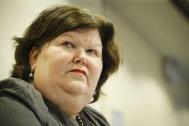 Maggie De Block devant la commission parlementaire sur les attentats.