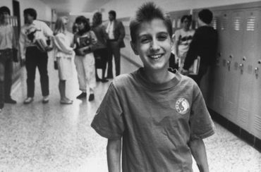 Ryan White, victime du sida âgée de 16 ans
