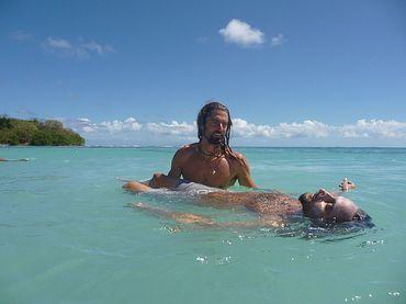 Nicolas Sommer, praticien et formateur de janzu donne des soins en France et aux Antilles.
