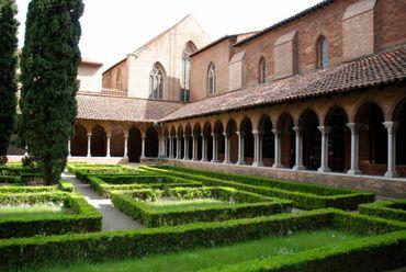 Cloître du couvent des Jacobins