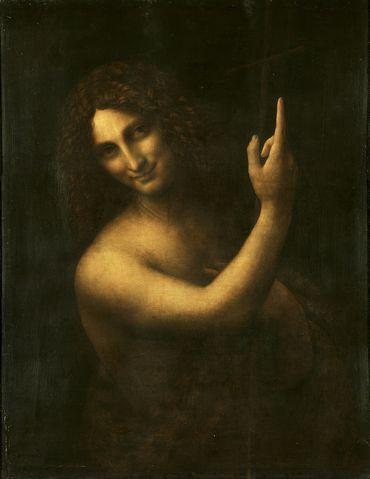 Saint Jean-Baptiste, Léonard de Vinci - Le Louvre (Paris)