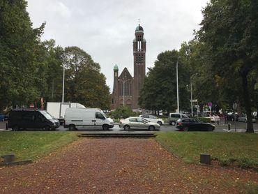 Vue actuelle du Square Riga
