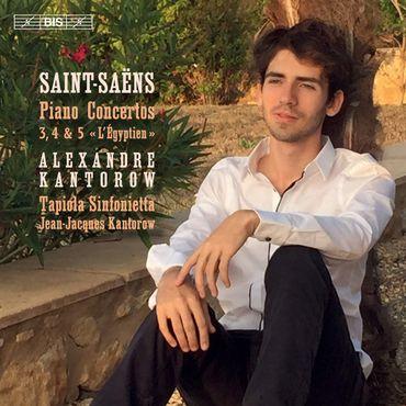 Alexandre Kantorow -Saint-Saëns. Concertos pour piano nos 3-5. Bis 682