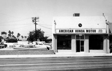 Le premier garage aux Etats-Unis à Los Angeles