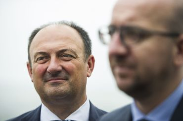 Willy Borsus et Charles Michel