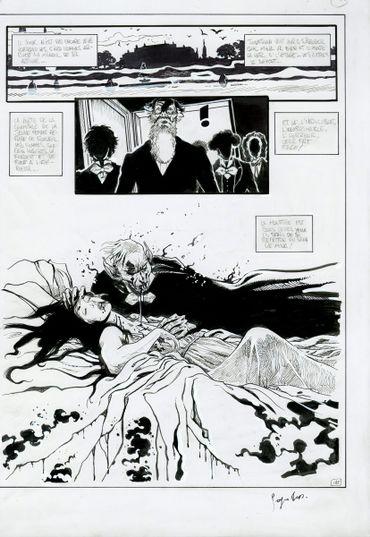 Extrait : Dracula, de George Bess d'après Bram Stoker