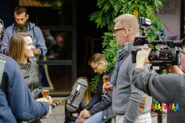 Interview de Justine Henin à l'occasion du rallye Justine For Kids