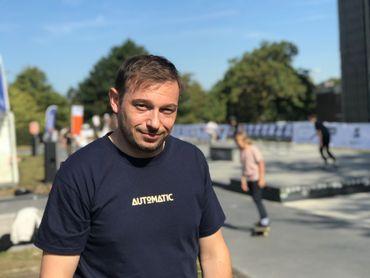 Tournai : Du beau monde sur les rampes du skatepark