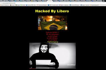 Anonymous s'attaque à la coupe du monde et menace le gouvernement brésilien
