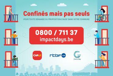 """""""Confinés mais pas seuls"""" - CAP48 et RTBF"""