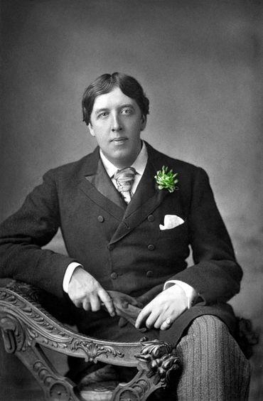 L'oeillet vert de'Oscar Wilde