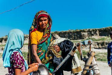 Les habitants des chars sont des sans-terre et des sans-voix, les oubliés d'un pays en plein développement.