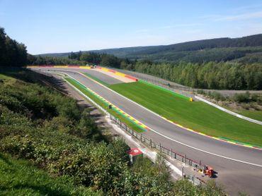 Le circuit  F1 de Spa-Francorchamps