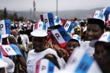 La grande parade du FPR à Kigali le 2 août dernier.