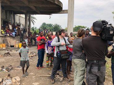A la rencontre des réfugiés en provenance de Yumbi (RDC)