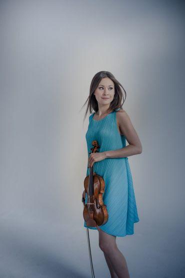 Arabella Steinbacher, membre du jury du Concours Reine Elisabeth