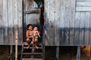 """Puerto Nariño, un village modèle sur le plan écologique, mais aussi au niveau du """"buen vivir""""."""