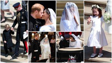 Parmi les enfants d'honneur : le prince George et la princesse Charlotte, les enfants de William et Kate.