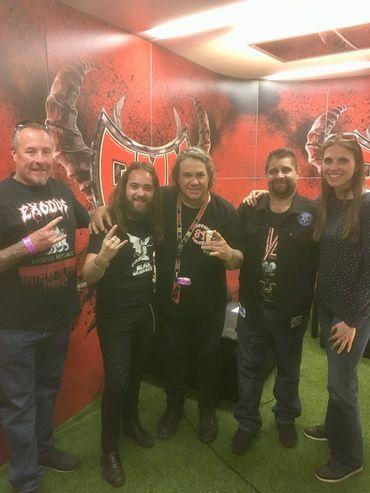 L'équipe Classic 21 Metal avec Exodus
