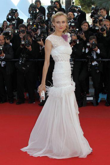 """L'actrice Diane Kruger pourrait arpenter le tapis rouge de Cannes pour la projection du film """"Maryland"""" d'Alice Winocour."""