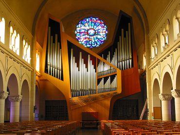 L'orgue de l'Eglise Notre-Dame des Grâces du Chant d'oiseau, Woluwé-Saint-Pierre