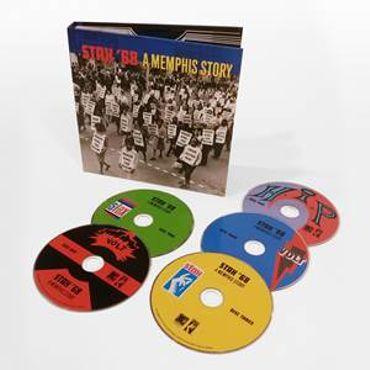 134 titres du label Stax en 1968!