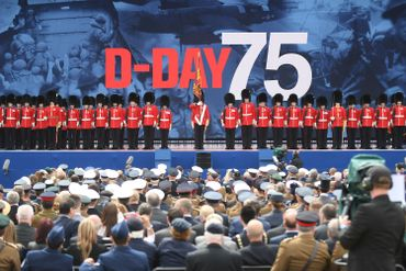 """""""Jour J"""": vétérans et dirigeants réunis à Portsmouth pour les commémorations"""