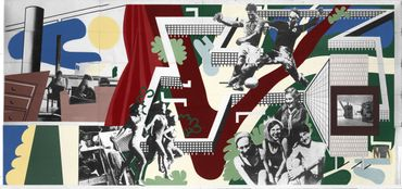 Charles-Édouard Jeanneret dit Le Corbusier (1887-1965) Habiter, panneau exposé au Pavillon des Temps Nouveaux, Paris, 1937 Photocollage, reconstitution à l'échelle 1:2 Projet Arthur Rüegg, réalisation Publigraph, La Chaux-de-Fonds