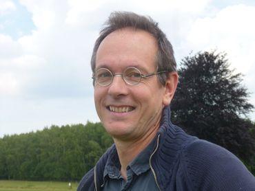 Pierre-Paul Fièvé, chargé de communication pour l'expo Josep Riera i Arago