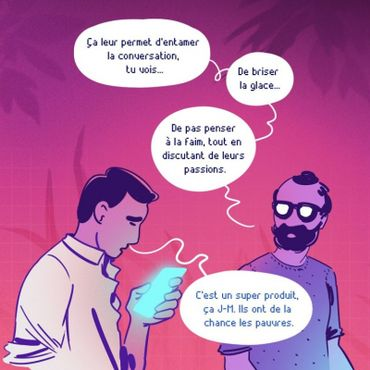 """""""Le Monde Brûle"""", la BD dystopique sur Instagram"""