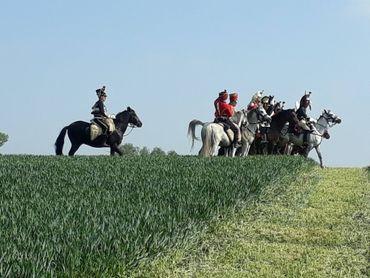La Ferme du Caillou est célèbre pour avoir été le dernier Quartier général  de Napoléon, la veille de la bataille de Waterloo