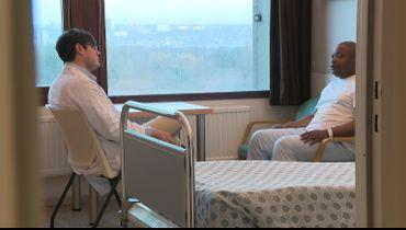 Ce patient ronfle, c'est son épouse qui lui a suggéré de passer un test.