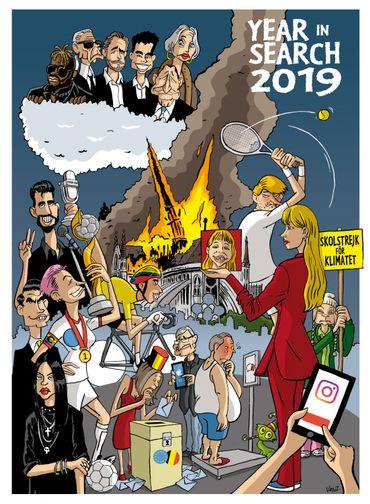 Google Year in Search 2019 : Découvrez les tendances belges de l'année
