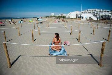 Modèle de plage statique, 21 mai 2020