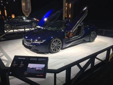 La BMW i8 Coupé