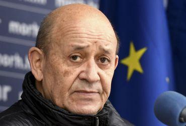 Jean-Yves Le Drian, le 14 janvier 2021