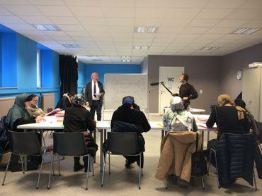 Le cours de français de Léon Schills, salle de classe mais aussi lieu de vie et d'échanges