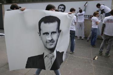 Bachar al-Assad régulièrement épinglé par les ONG, comme dans le cas présent par Reporters sans frontières