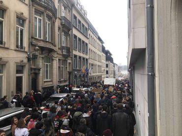Vaste mobilisation dans les rues bruxelloises