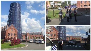 Deux policières attaquées à la machette à Charleroi, l'agresseur est mort (vidéos)
