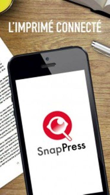 SnapPress : l'expérience de la réalité augmentée avec l'imprimé connecté